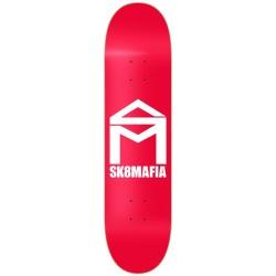"Tábua Sk8mafia ""House Logo"" Red - 8.0"""" ou 8.25"""""