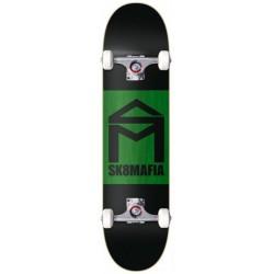 """Skate Completo Sk8mafia """"House Logo"""" Double Dip Black - 8.0"""""""""""