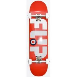"""Skate Completo Flip - Modyssey Red White - 7.5"""""""""""