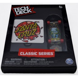 Fingerboard Tech Deck Classic Santa Cruz Bod Boyle Stained Glass