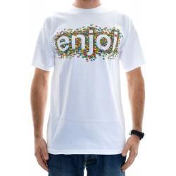 T-Shirt Enjoi Candy Coated - White