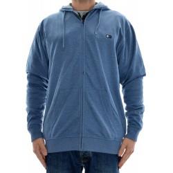 Sweat Hood Zip Fourstar Eastman - Blue