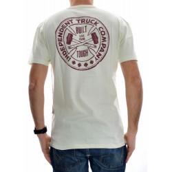 T-Shirt Independent Bt Cross Classic - Bone White