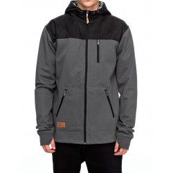 Sweat Hood Zip DC SPT Heddon Water Resistant