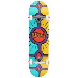 """Skate Completo Blind Holy Grail Teal/Yellow - 8.0"""""""""""
