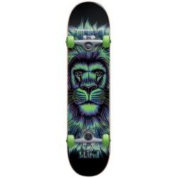 """Skate Completo Blind Lion Neon Green - 7.625"""""""""""