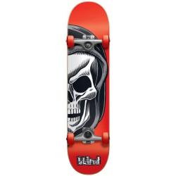 """Skate Completo Blind Reaper Split Youth Red - 7.25"""""""" (Mid)"""