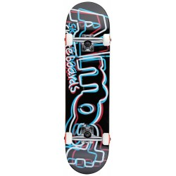 Skate Completo Almost Neon Red White Blue - 8.0""""