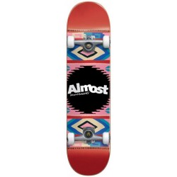 Skate Completo Almost Native American Red - 7.5""""