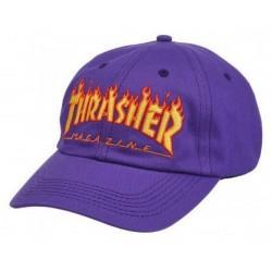 Boné Thrasher Flame Old Timer - Purple