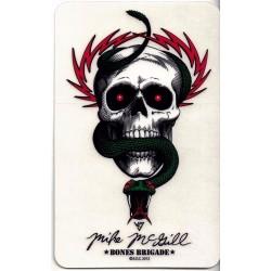 Autocolantes Bones Brigade® Mike McGill Skull & Snake