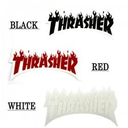 Autocolantes Thrasher Flame Logo Small
