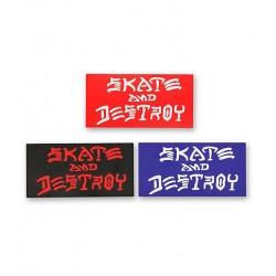 Autocolantes Thrasher Skate & Destroy