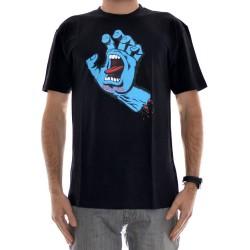 T-Shirt Santa Cruz Screaming Hand  - Black