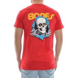 T-Shirt Powell Peralta Ripper - Red