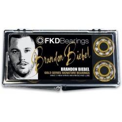 Rolamentos Fkd Gold Series Brandon Biebel - Abec 7