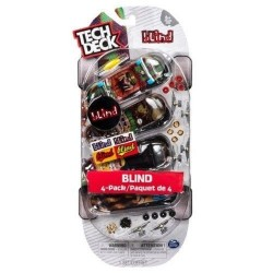 Fingerboard Tech Deck 4-Pack - Blind