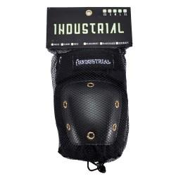 Cotoveleiras Industrial - Black/Black
