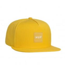 Boné Huf Box Logo Snapback - Yellow