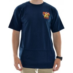 T-Shirt Powell Peralta Caballero Street Dragon - Navy