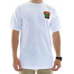 T-Shirt Powell Peralta Caballero Street Dragon - White