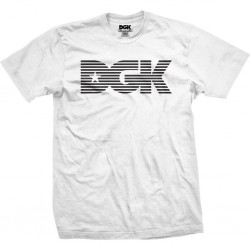 T-Shirt DGK Levels - White