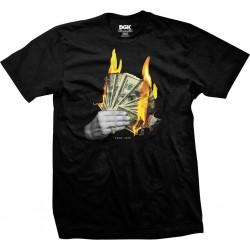 T-Shirt DGK Fast Life - Black