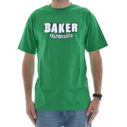 T-Shirt Baker Logo - Green