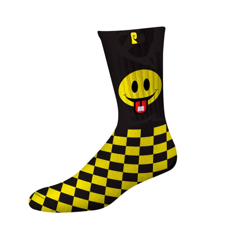 Meias Psockadelic SID - Black/Yellow