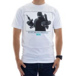 T-Shirt DGK Get It - White