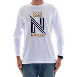 Longsleeve Nomad OG Logo - White