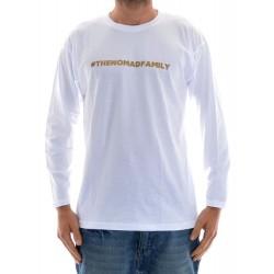 Longsleeve Nomad Hashtag - White