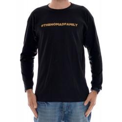 Longsleeve Nomad Hashtag - Black