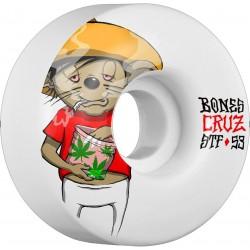 Rodas Bones Yonnie Cruz  Weedy Street Tech Formula™ (STF) V2 - 53mm 83b