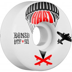 Rodas Bones Paul Hart Drop Boards Street Tech Formula™ (STF) V1 - 53mm 83b