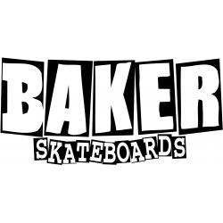 Autocolantes Baker Brand Logo Big