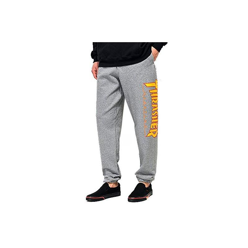 Calças Thrasher Flame - Grey