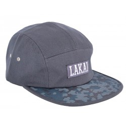 Boné Lakai Dynasty 5-panel - Charcoal