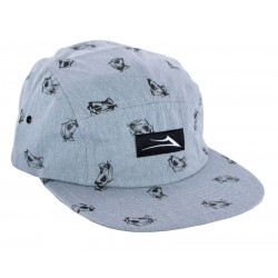 Boné Lakai Reaper 5-Panel - Grey