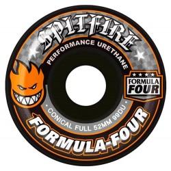 Rodas Spitfire Formula Four Conical Full Black - 99Du