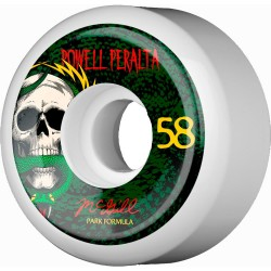 Rodas Powell Peralta Mike Mcgill Snake 3 White - 58mm x 103a