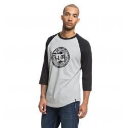 T-Shirt DC Research 3/4 - Black/Grey