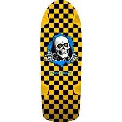 Tábua Powell Peralta OG Ripper Checker Yellow - 10'' x 30''