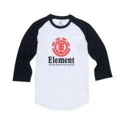 T-Shirt Element Vertical Raglan - White
