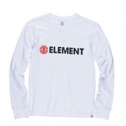 Longsleeve Element Blazin - White