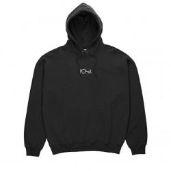 Sweat Hood Polar Stroke Logo - Black