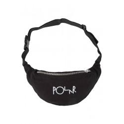 Bolsa Polar Script Logo - Black