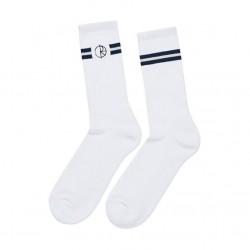 Meias Polar Stroke Logo - White