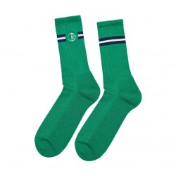 Meias Polar Stroke Logo - Green