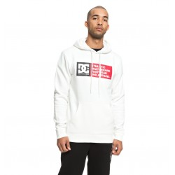 Sweat Hood DC Vertical Zone - White
